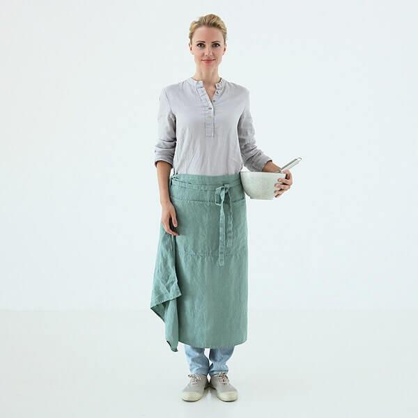 linen apron - home textiles