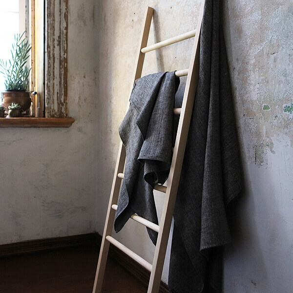 linen towels bathroom refresh