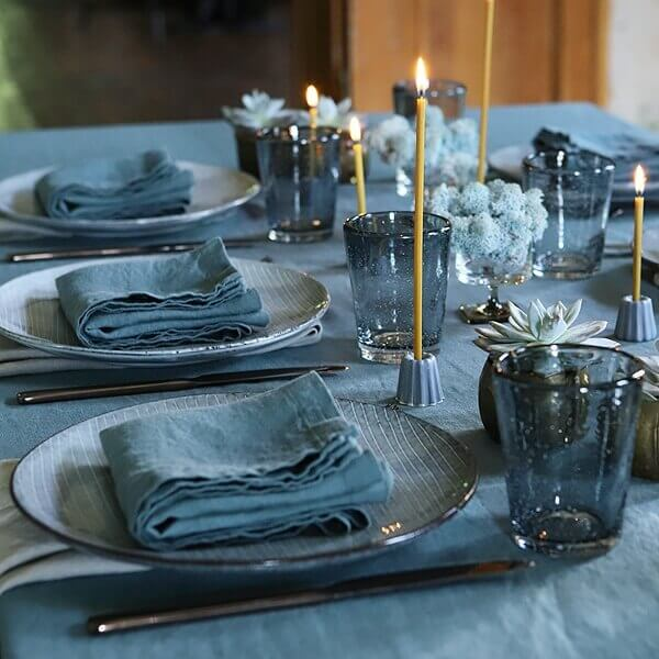 candles table setting - Perfect Table