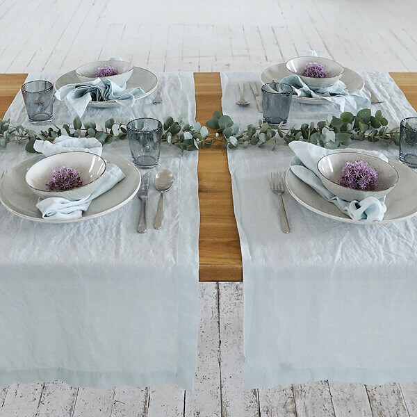 linen table runner - Perfect Table