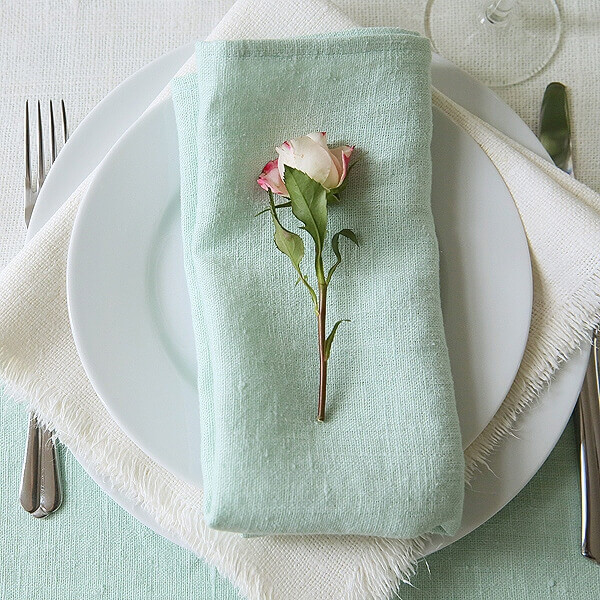 linen napkins table setting - Perfect Table