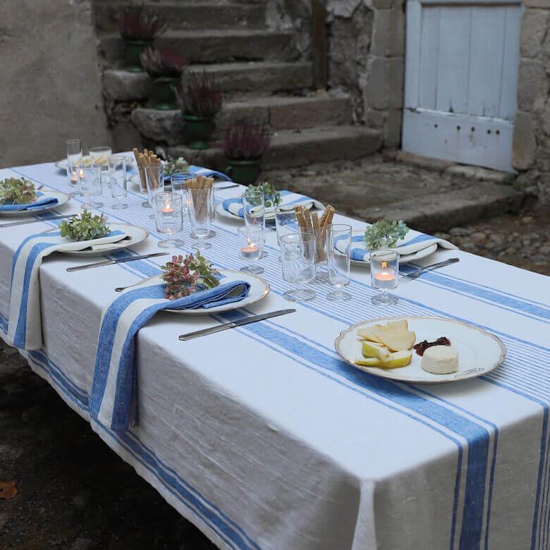 linen tablecloth napkins - linen essentials