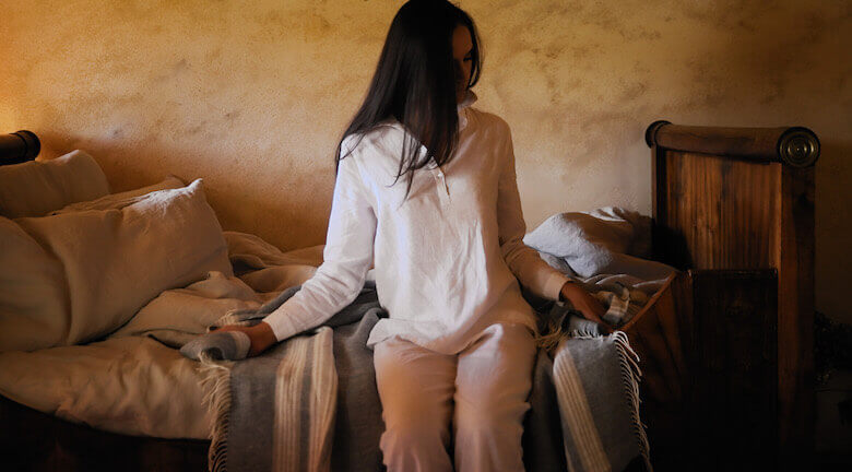 linen pyjamas spring summer - linen sleapwear