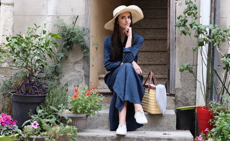 linen maxi dress - Linen Clothes - LinenMe