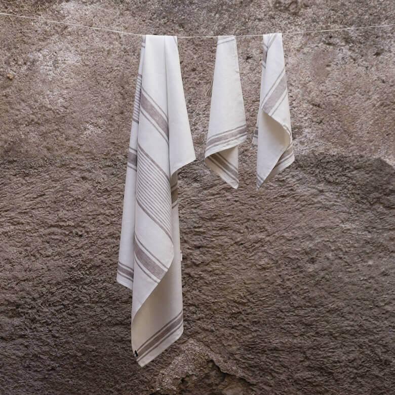 huckaback linen towels - LinenMe