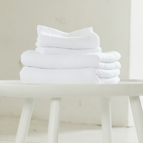 White linens - Waffle Towels