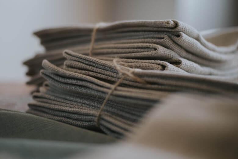 storing vintage linens