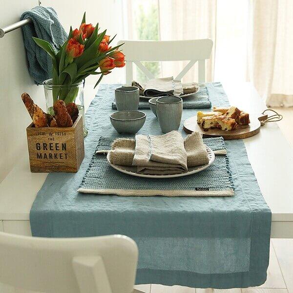sunday brunch linen table runner - LinenMe