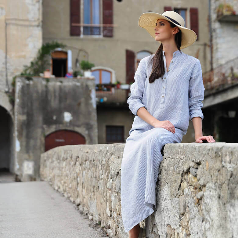 stay cool heatwave with linen