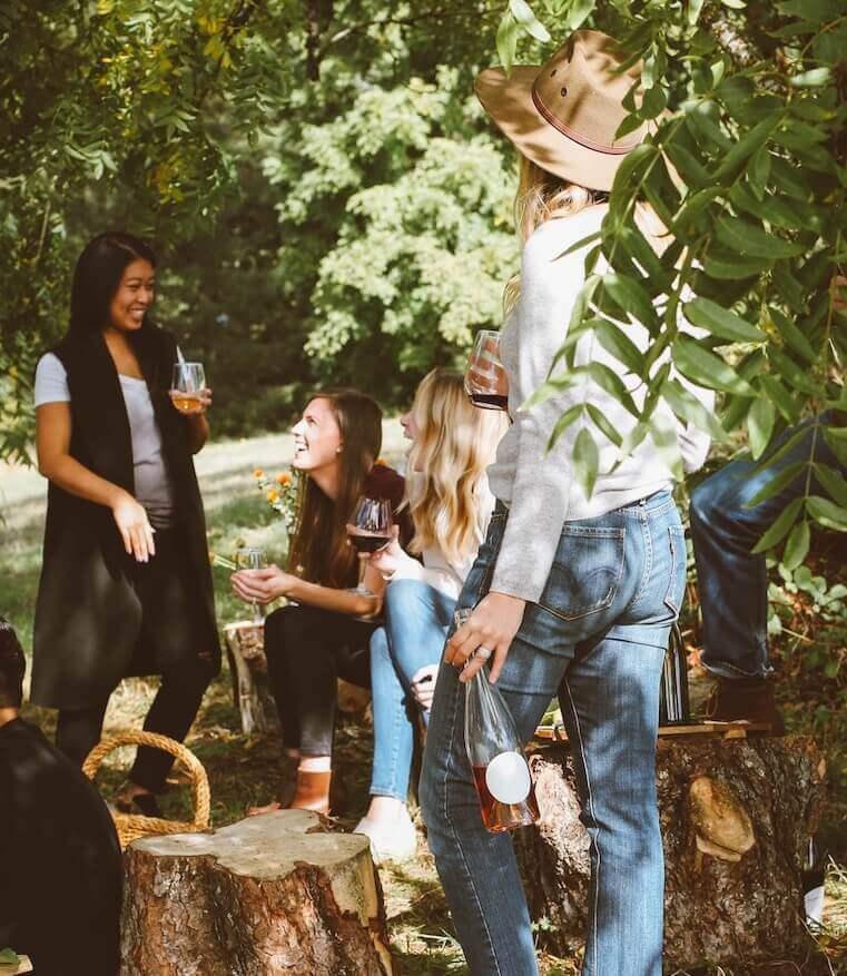 summer table linens bbq - Linenbeauty