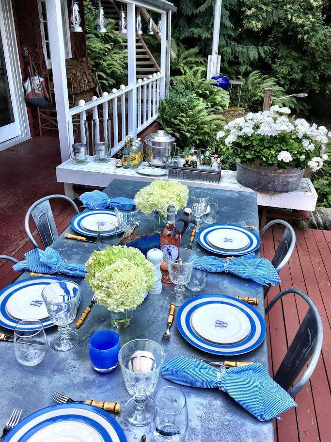 summer table linens