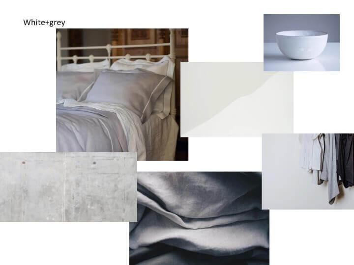 White & Grey