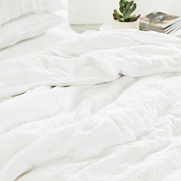 linen bedlinen set - Duvet vs comforter