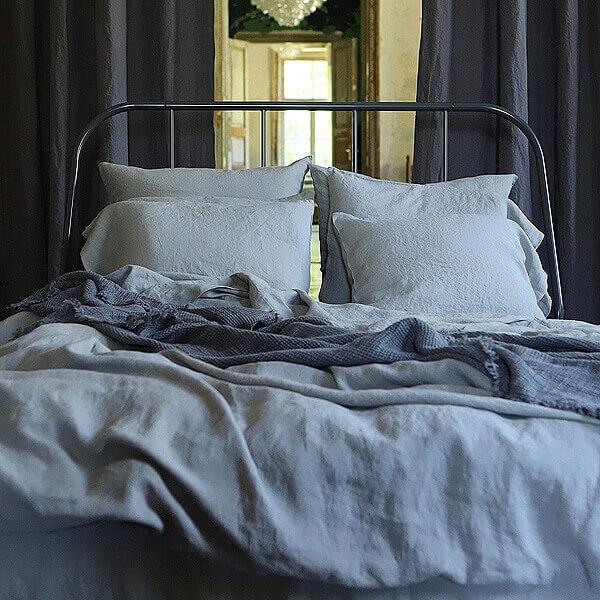linen duvet cover vs comforter