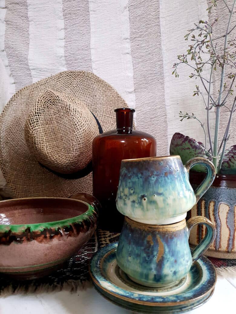 interior inspiration ceramics - Lene Nissen