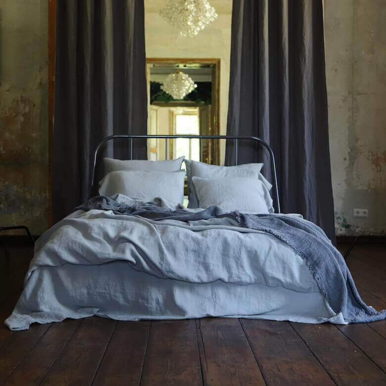 bedroom looks using linen - LinenMe