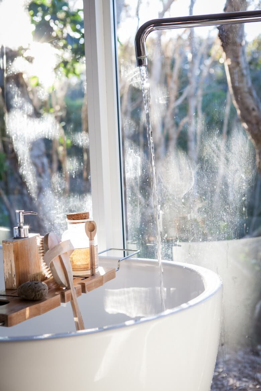relaxing bath time linen towels