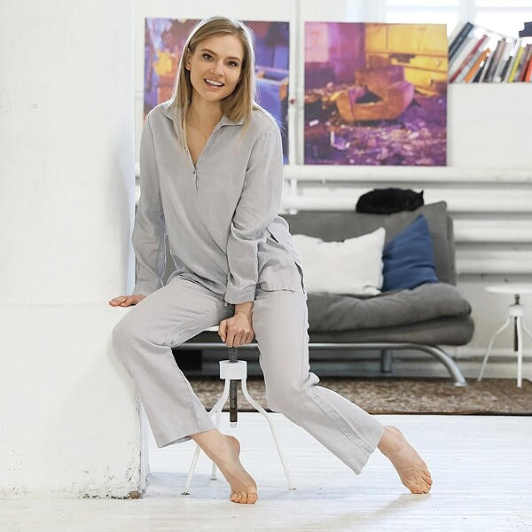 linen pyjamas christmas - linen gifts