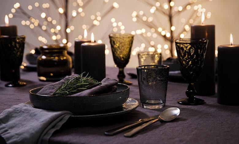 decorate table for christmas - Christmas Table Setting
