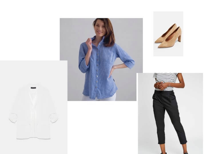 linen shirt workwear summer