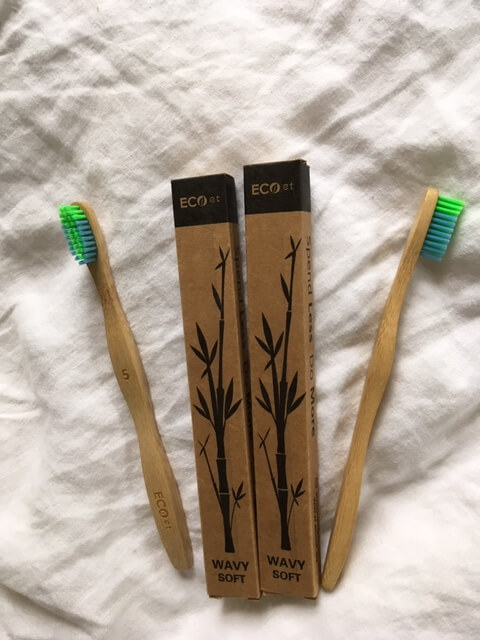 bamboo toothbrushes bathroom