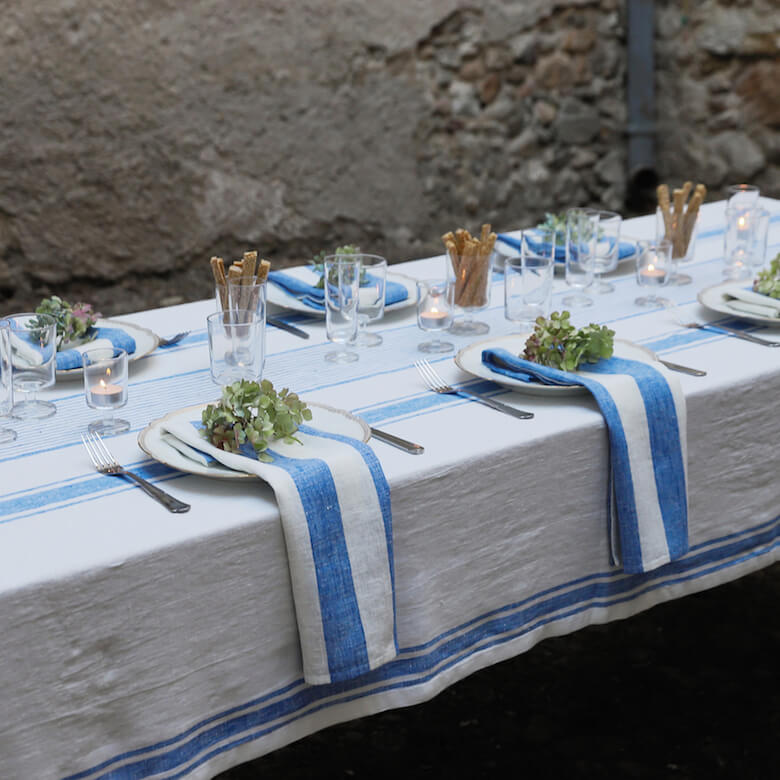 summer table linen tablecloths