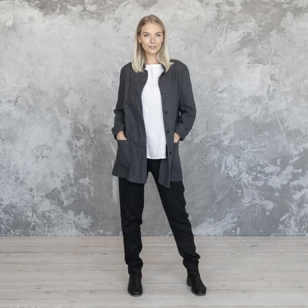 linen jacket winter