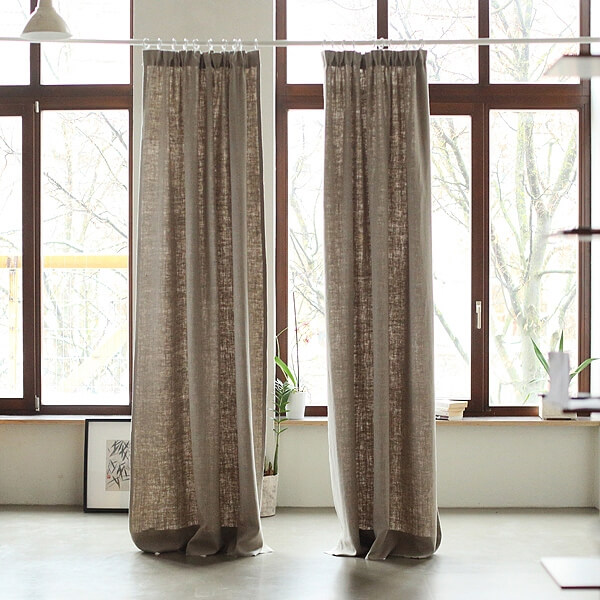 how to choose linen curtains