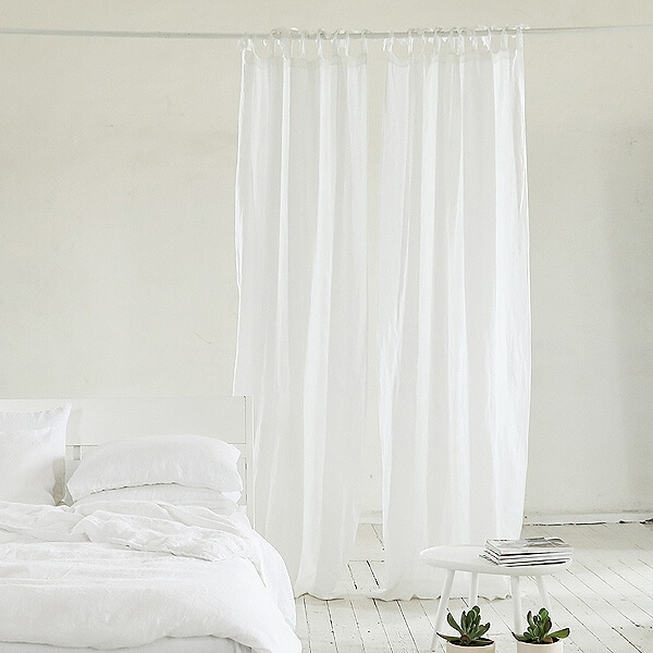 how to buy linen curtains