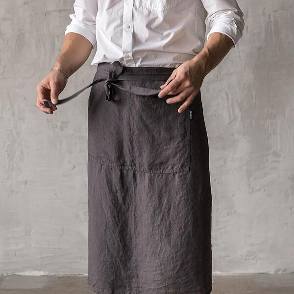 linen apron men