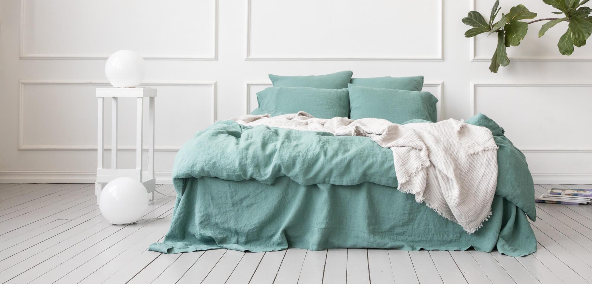 natural properties linen bedding