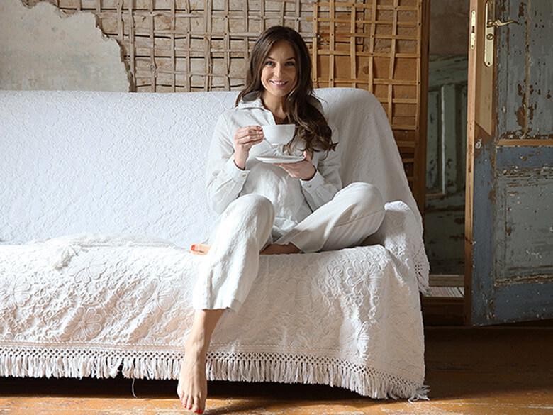linen for better sleep