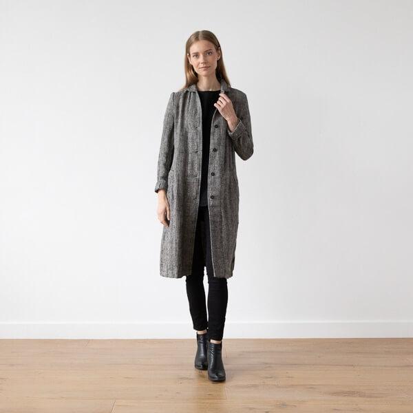 linen jacket fall winter