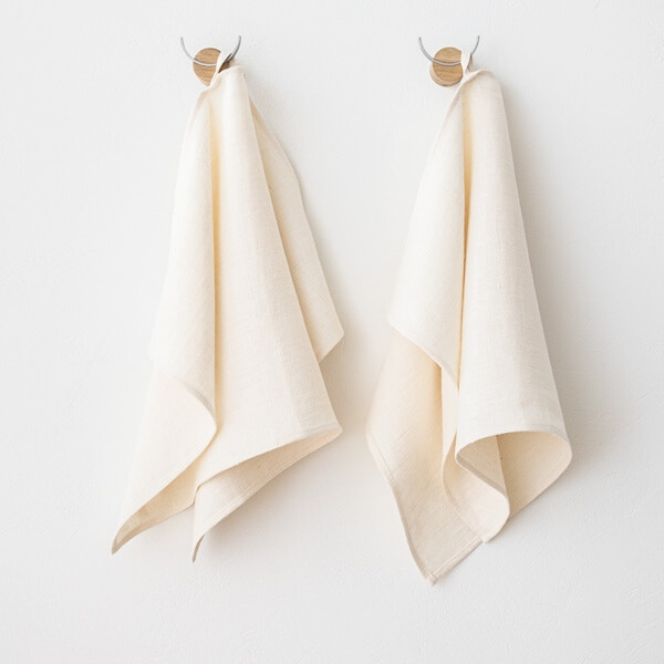 linen hand towels Christmas