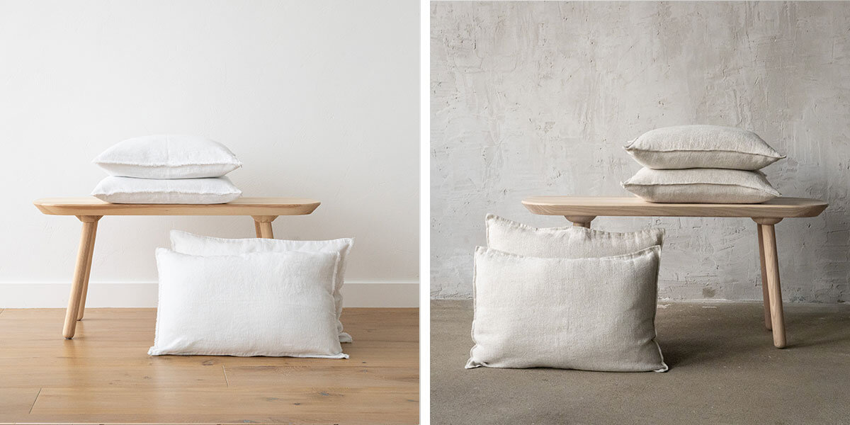 linen cushion covers spring