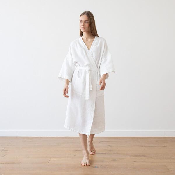 linen home wear bath robes