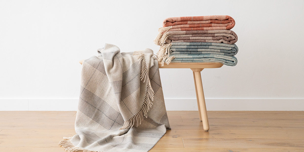 wool throws for fall