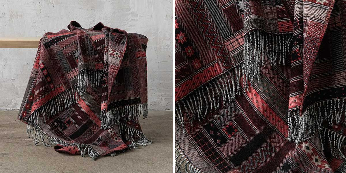 cozy wool throws winter