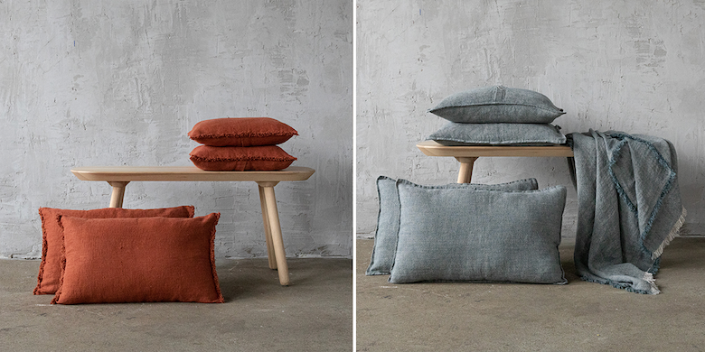 linen cushion covers fall winter