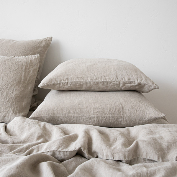 PILLOW-CASE-NATURAL-100-LINEN-STONE-WASHED